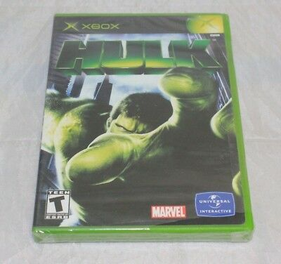 Hulk (Microsoft Xbox, 2003) Brand New Factory Sealed