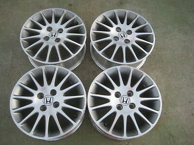 04 05 2004 2005 Honda Civic Lx Special Edition Alloy Rims Wheels 15x6 Oem