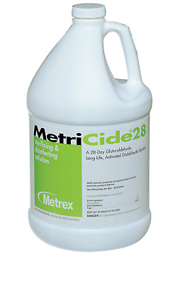 NEW! MetriCide 28 Glutaraldehyde High Level Disinfectant Fruity Scent -1 Gal.