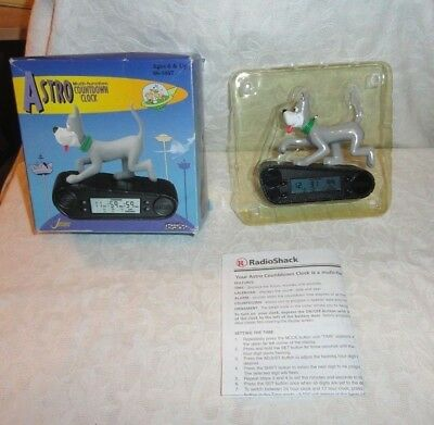 1999 The Jetsons Astro Multi Function Christmas Countdown Clock Ornament