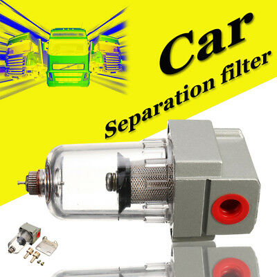 Oil Water Air Filter Separator Trap Compressor For Diesel Heater Part 5mm Nozzle