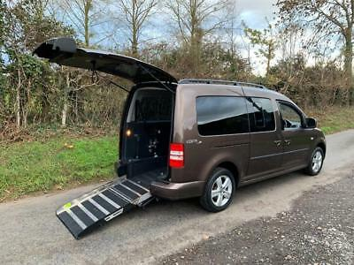 2015 Volkswagen Caddy Maxi Life 1.6 TDI 5dr WHEELCHAIR ACCESSIBLE VEHICLE 5 d...