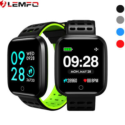 Lemfo Etanche Montre Intelligente Best Buy Cardiofréquencemètre Pour Samsung IOS