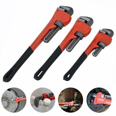 Stilson Large Heavy Duty Plumbers Monkey Pipe Wrench Spanner Tool Set Adjustable