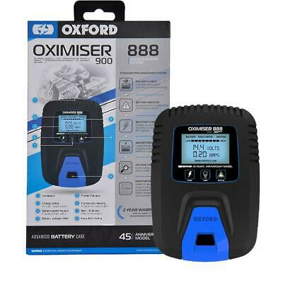 Oxford Oximiser 900 Motorcycle Battery 12V Optimiser Trickle Charger EL572