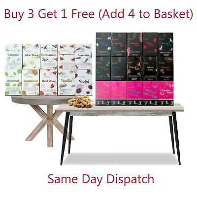 Stamford Incense Cones(10 Cones)- Buy 3 Get 1 Free- Add 4 In Basket- Many Scents