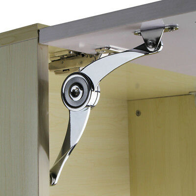 Cupboard Door Furniture Soft Close Gas Lift Up Stay Expand Hinge Dampe Silver H1