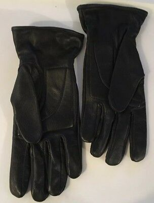 Hugger Ladies Leather Driving Gloves, Padded Palm, Size M-L, Deer Skin