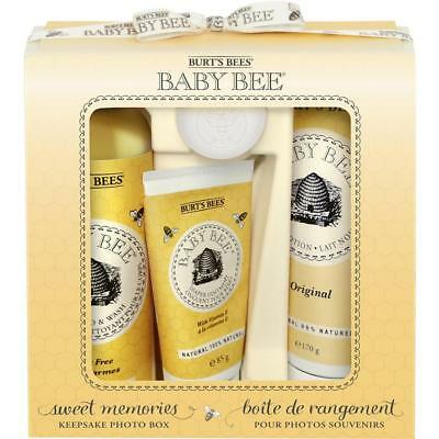 Burt's Bees Baby Bee Sweet Memories Keepsake Photo Box Gift Set 89249-14