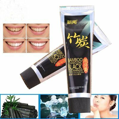 2017 Bamboo Charcoal All-Purpose Teeth Brightening Black Toothpaste Care MGFD