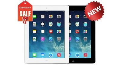 NEW Apple iPad 4 WiFi + GSM Unlocked | 16GB 32GB 64GB 128GB | Black or White