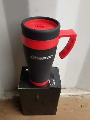 Snap On Thermal Travel Safety Mug Cup NEW reduced by £2 for 1 week only