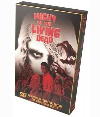 Night of the Living Dead Anniversary Collectors Edition (4K Scan Criterion) RARE