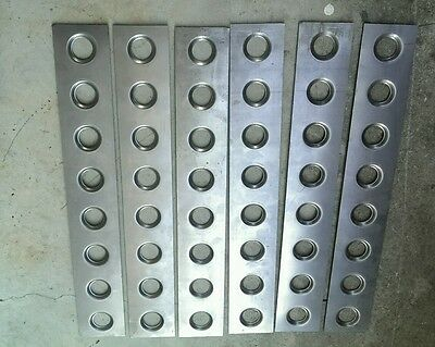 Dimple die plates, lower control arms, roll cage, wheel tubs, 100x500x1.2mm