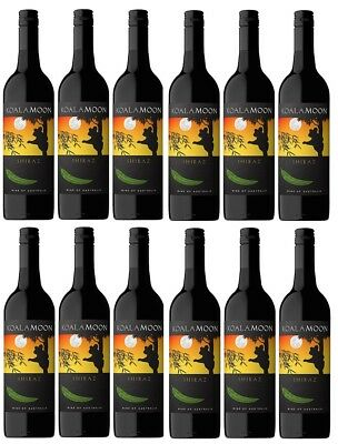 RRP $199! Koala Moon Shiraz Red Wine 2016 (12x750ml) Fast & Free Shipping