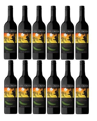 RRP $199! Koala Moon Cabernet Sauvignon Red Wine 2016 (12x750ml) Free Shipping