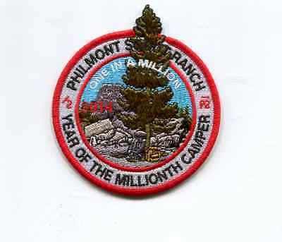 Patch From Philmont Scout Ranch -2014 Adventure
