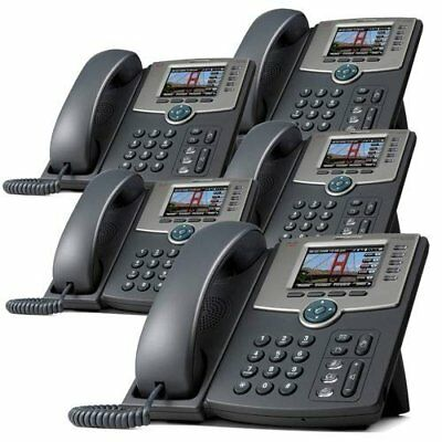 VOIP Cisco SPA525G2 5-Line IP Phone (5 Pack)