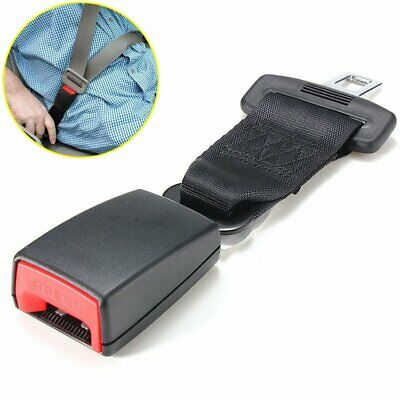 23cm/9'' Car Seat Belt Buckle High Strength Nylon Extender Strap Safety Buckle