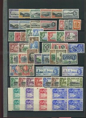 Commonwealth mid period mint collection unchecked assume MH #2