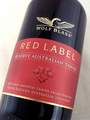 2012 circa NV WOLF BLASS Red Label Reserve Australian Tawny Port ISLE OF WINE