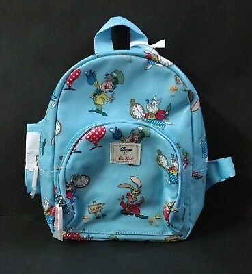 Cath Kidston Disney Alice in Wonderland Late for Tea Kids Mini Rucksack Backpack