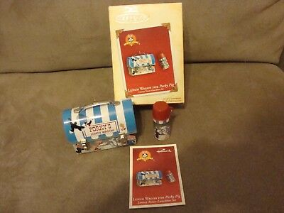 Hallmark Keepsake Looney Tunes LUNCH WAGON FOR PORKY PIG Ornaments 2004 NIB