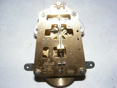 Vintage Clock Movement Hermle 771-000 Brass German Part Spares Small