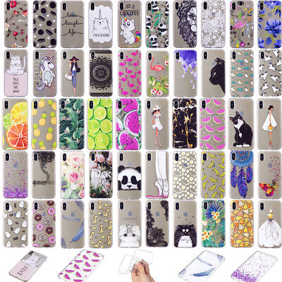 New Slim Clear Soft Silicone TPU Rubber Back Case Cover For iphone X XR XS max