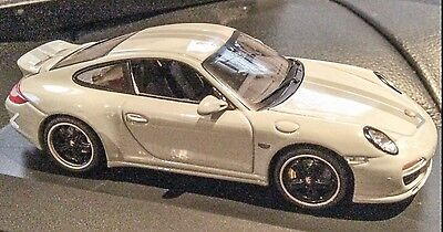 New Rare Porsche 911 Grey Sports Classic Ducktail Carrera Schuco Not Minichamps