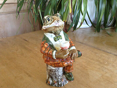 Cinque Ports Pottery Rye Country Gentlemen Toad