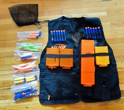 Tactical Vest For Nerf N-Strike Elite Series Kit Adjustable Free Shipping, used