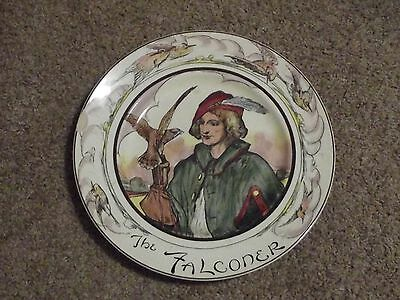 Royal Doulton The Professionals Series THE FALCONER #D6279 Collector Plate
