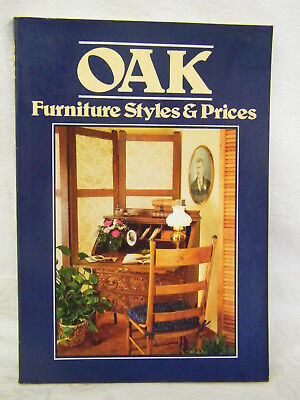 Vintage: Oak Furniture Styles and Prices-Wallace-Homestead Book Company