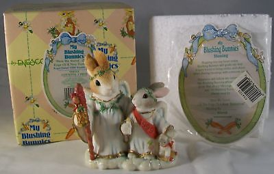 Enesco My Blushing Bunnies Here We Stand On Edge Of New Tomorrow Angel 1999
