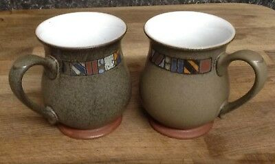Denby Marrakesh Mugs X 2