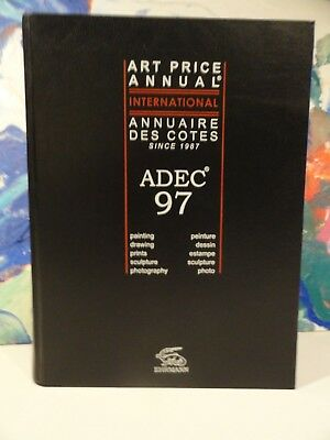 ADEC 97 Falk's Art Price Annual International Reference 1997 Edition Ehrmann