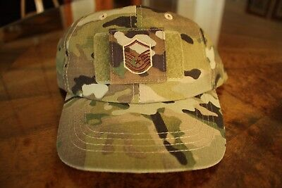 Usaf Us Air Force Multicam Ocp I/a E-7 Camouflage Combat Ballcap Ball Cap Hat