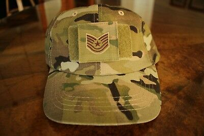 Usaf Us Air Force Multicam Ocp I/a E-6 Camouflage Combat Ballcap Ball Cap Hat