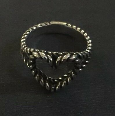 James Avery Twisted Wire Heart Ring Size 6 7 50 90 Picclick