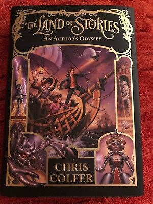 The Land of Stories: An Author's Odyssey 5 by Chris Colfer (2016, Hardcover)