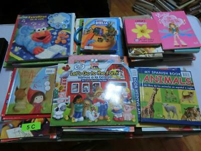 Lot of 91 Spanish Kids Children's Picture Books