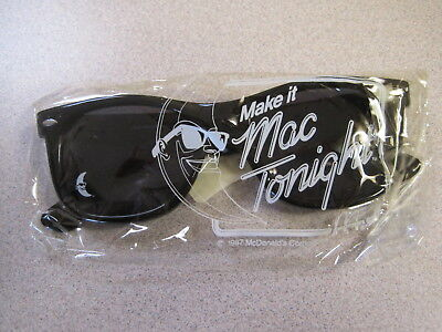 McDonalds 1987 Mac Tonight (Moon Man) Sunglasses For Adults - Mac is Cool - New