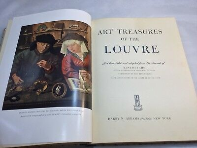 Art Treasures of the Louvre - Published In 1951 - Great Gift For Any Art Lover