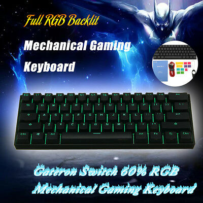 ANNE PRO 2 Gateron Switch USB RGB Mechanical Bluetooth Backlit Gaming Keyboard
