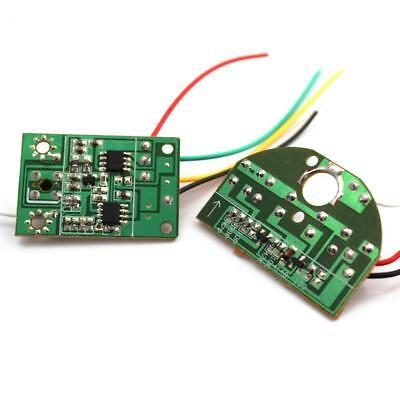 Wireless 27MHZ Remote Control Module Transmitter Receiver Board RC Airplane Toy