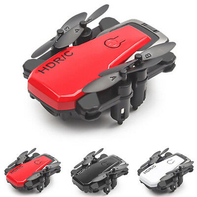 Mini D2WH Foldable Drone Wifi FPV HD Camera 4CH 2.4Ghz 2MP RC Quadcopter Toys