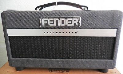 Fender Bassbreaker 007 Guitar Amp 7W Tube Head 120V  - New