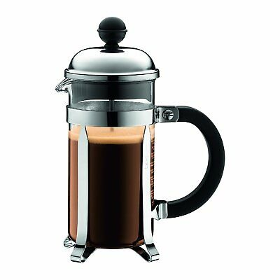 NEW BODUM 0.35 litre / 12oz / 3 cup CHAMBORD Cafetiere French Press Coffee Maker