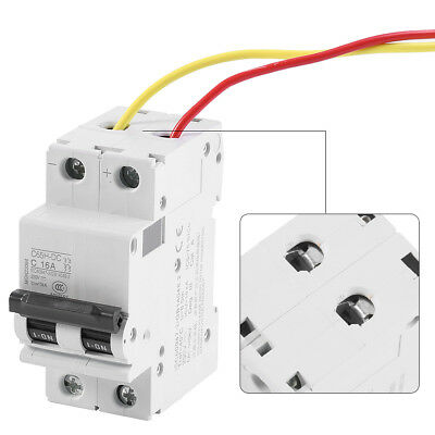 DC 2P Low Voltage Miniature Air Circuit Breaker Solar Energy Switch 16A/32A/63A